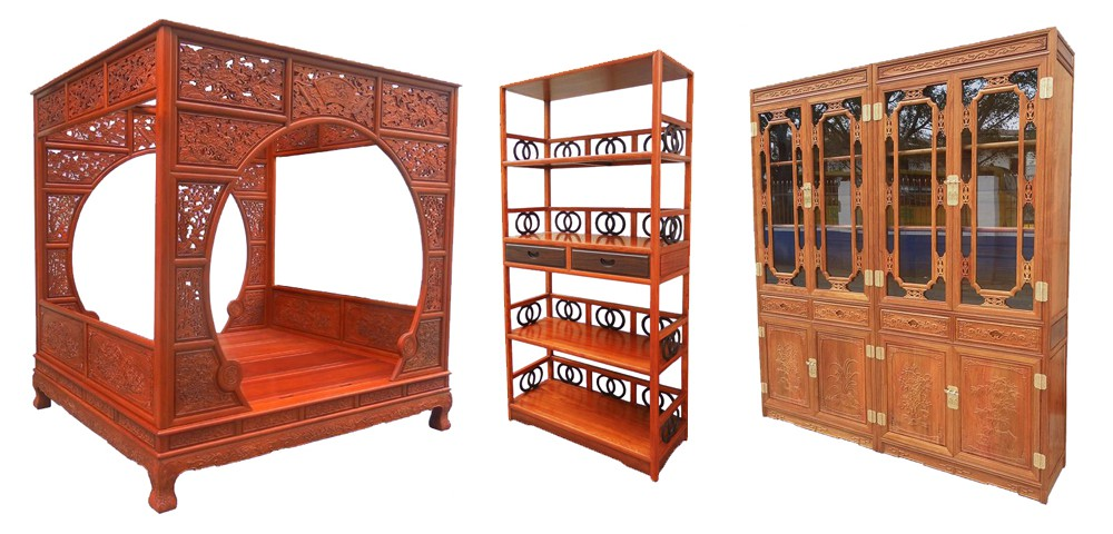 Finesse Furniture - The largest collection of  Chinese Rosewood furniture available  - at LOW internet prices