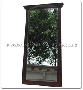 Rosewood Furniture Range  - ff123r6sm - Shinto style wooden frame bevel mirror