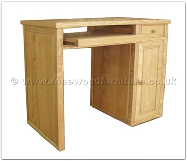 Rosewood Furniture Range  - ff32f18desk - Ashwood computer desk