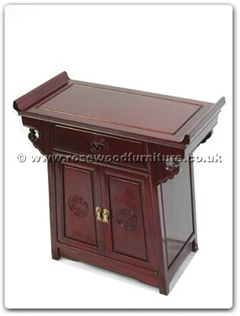 Rosewood Furniture Range  - ff7031l - Altar table longlife design