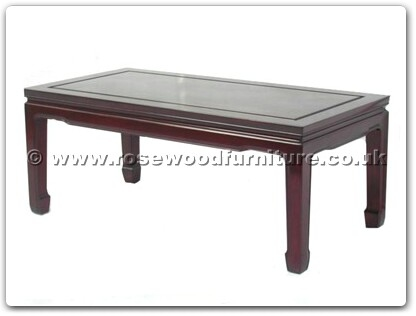 Rosewood Furniture Range  - ff7032p - Coffee table plain design 40 inch
