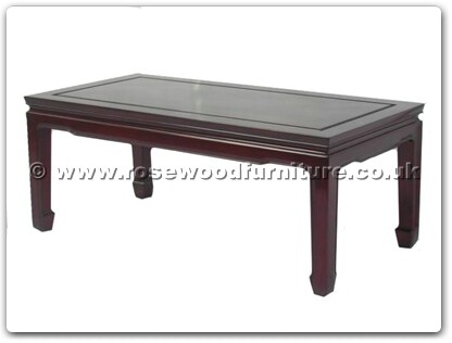 Rosewood Furniture Range  - ff7032pb - Coffee table plain design 50 inch