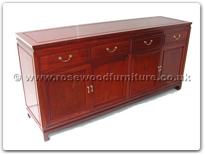 Rosewood Furniture Range  - ff7109p - Buffet plain design