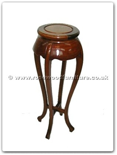 Rosewood Furniture Range  - ff7205rp - Flower stand plain design ( Round )