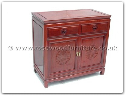 Rosewood Furniture Range  - ff7312l - Buffet with 2 drawers  and  2 doors longlife design