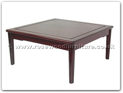 Rosewood Furniture Range  - ff7329m - Ming style sq coffee table