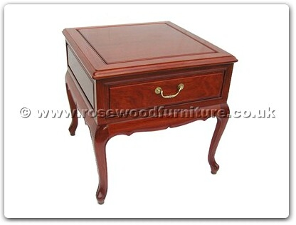 Rosewood Furniture Range  - ff7332 - Queen ann legs side table