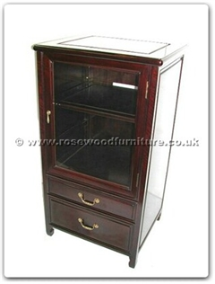 Rosewood Furniture Range  - ff7440p - Hi-fi cabinet plain design with open top lid