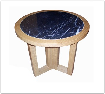 Rosewood Furniture Range  - ff8013a - Ashwood marble top round end table