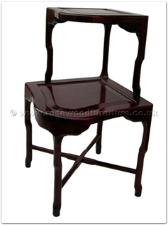 Rosewood Furniture Range  - ffbk85ct - Corner end table
