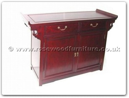 Rosewood Furniture Range  - ffbp48alt - Altar table plain design