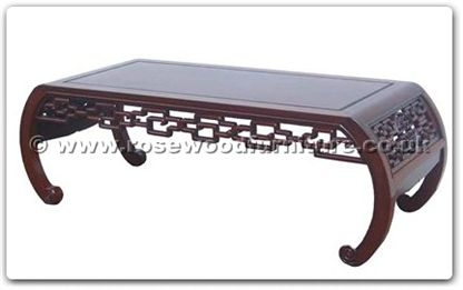 Rosewood Furniture Range  - ffckcoffee - Curved style coffee table key design