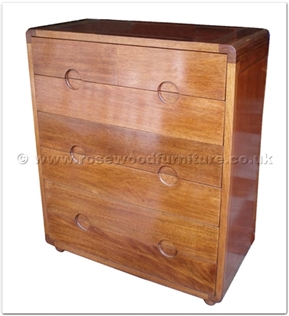 Rosewood Furniture Range  - ffff8001r - Redwood chest of 7 drawers