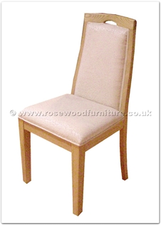 Rosewood Furniture Range  - ffff8006c - Ashwood fabric dining side chair