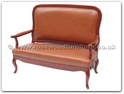 Rosewood Furniture Range  - fffl2sofa - Love Seat - leather sofa french design