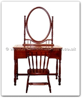 Rosewood Furniture Range  - ffhfb028 - Rosewood Dressing Table 1 Setith 3