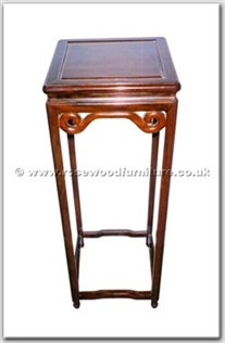 Rosewood Furniture Range  - ffhfl121 - Rosewood Flower Stand Ming Style
