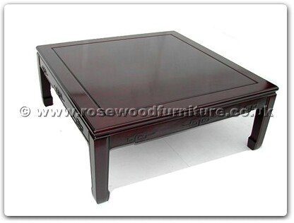 Rosewood Furniture Range  - ffk45cof - Sq coffee table key design