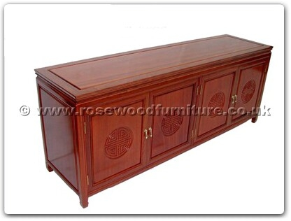 Rosewood Furniture Range  - ffl72cab - Cabinet with 4 doors longlife design