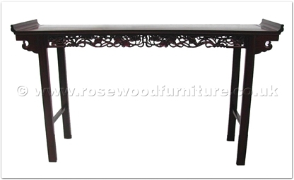 Rosewood Furniture Range  - fflo76hall - Hall table lotus design