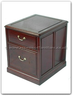 Rosewood Furniture Range  - ffpfcab - Hanging file cabinet plain design