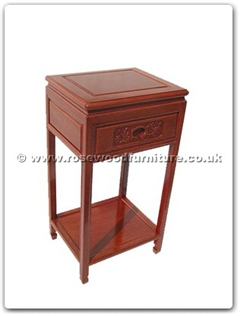 Rosewood Furniture Range  - ffrbtels - Telephone stand with shelf f and b design