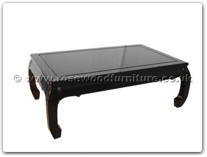 Rosewood Furniture Range  - ffrc50cof - Curved legs coffee table
