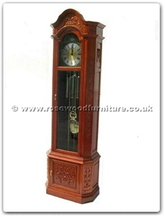 Rosewood Furniture Range  - ffrfclock - Grandfather clock french design with germany movement