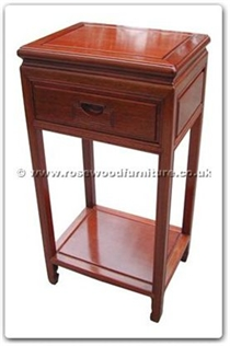 Rosewood Furniture Range  - ffrptels - Telephone stand with shelf plain design