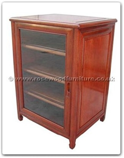 Rosewood Furniture Range  - ffrsgcab - Stereo cabinet with one glass door