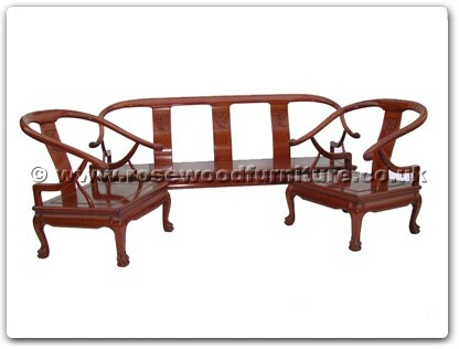 Rosewood Furniture Range  - ffsbtosofa - Sofa Solid F and B Design Tiger Legs Chair Excluding Cushion
