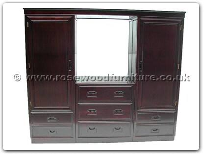 Rosewood Furniture Range  - ffwarunit - Wardrobe Unit