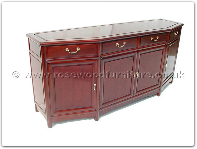 rosewood angle ming style buffet ff7311b. Black Bedroom Furniture Sets. Home Design Ideas