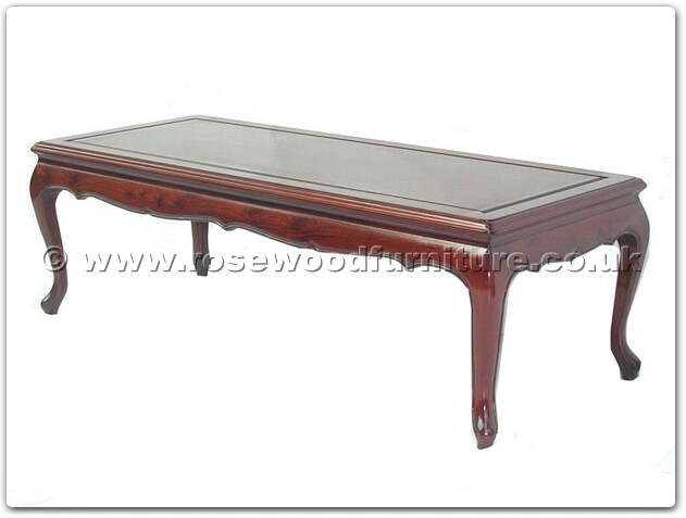 Rosewood queen ann coffee table 50 inch ff7324b for 50 inch coffee table