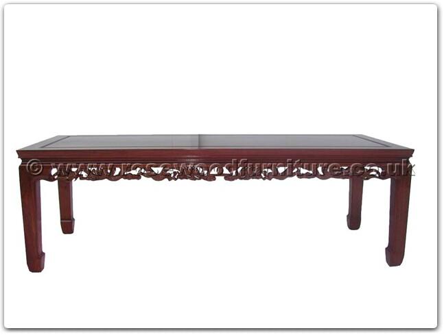 Rosewood Coffee Table Dragon Design Ffd50coffee