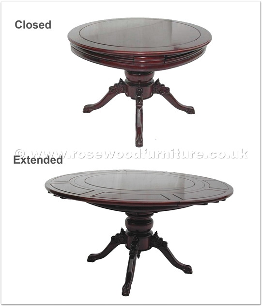 Rosewood Extendable Round Dining Table With Special  : ffer60spl from www.rosewoodfurniture.co.uk size 541 x 630 jpeg 94kB
