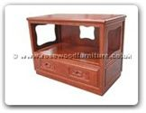 "Rosewood Furniture - ff116r38tv -  T.v. cabinet with 1 drawer f and b design - 36"" x 20"" x 26"""