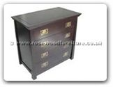 "Oriental Furniture Range - ORff121r16stche -  Shinto style chest of 4 drawers - 36"" x 20"" x 34"""