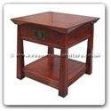 "Rosewood Furniture - ff129r41st -  Shinto style side table - 22"" x 22"" x 22"""