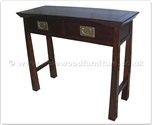 "Oriental Furniture Range - ORff137r6ser -  Shinto style serving table - 2 drawers - 38"" x 15"" x 32"""