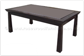"Chinese Furniture - ff145r3scof -  Shinto style coffee table - 50"" x 30"" x 18"""