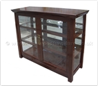 "Chinese Furniture - ff147r9dc -  Shinto style display cabinet - 48"" x 16"" x 36"""