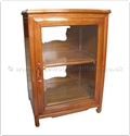 "Chinese Furniture - ff160r12hifi -  Stereo cabinet - 1 glass door - 24"" x 20"" x 34"""