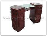 "Chinese Furniture - ff21f9met -  Manicure table - 48"" x 19"" x 32"""
