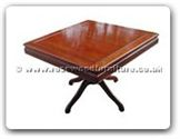 "Rosewood Furniture - ff24112tab -  Sq dining table with pedestal leg - 42"" x 42"" x 30"""