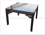 "Rosewood Furniture - ff24981inv13 -  Sq dining table key design                  - 43"" x 43"" x 30"""