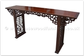 "Rosewood Furniture - ff24981inv3 -  Console table open key design - 79"" x 18"" x 35"""