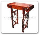"Oriental Furniture - ff24f4hall -  Altar table with 2 drawers - 35"" x 15"" x 40"""