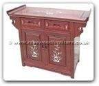 "Oriental Furniture - ff27g13acab -  Altar cabinet with m.o.p. - 48"" x 19"" x 34"""