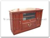 "Chinese Furniture - ff28e5tv -  T.v. cabinet plain design with angle back - 36"" x 15"" x 21.5"""